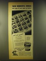 1946 Borden's Eagle Brand Sweetened Condensed Milk Ad - Magic 5-way Cookies - $14.99
