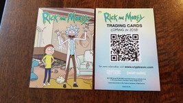 2018 NATIONAL CONVENTION EXCLUSIVE CRYPTOZOIC RICK AND MORTY PROMO CARD ... - $29.69