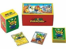 *Pokemon card game XY BREAK Luigi Pikachu Special BOX - $219.41
