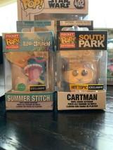 Funko Pocket Pop Keychain Cartman or Summer Stitch scented Lilo and Stitch - $10.50