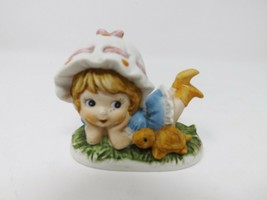 "Artmark Vintage 2.75"" Porcelain Figure - Girl with Turtle - $19.99"