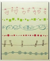Hero Arts Embellishment Borders Stamp Set, Rubber Mounted on Wood - $12.55