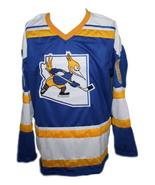 Robbie Ftorek Phoenix Roadrunners Retro Hockey Jersey New Blue Any Size - $54.99+