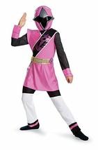 Disguise Power Ranger Rosa Ninja Acciaio Lusso Ragazze Costume Halloween... - $39.89