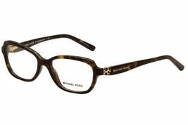 Michael Kors 0MK4025 Optical Full Rim Cat Eye Womens Sunglasses Dk Tortoise - $96.02
