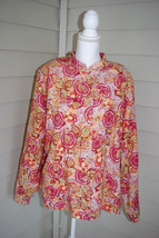 C J Banks for Christopher & Banks Multi Colored Button Down Jacket Size 2X - $24.74