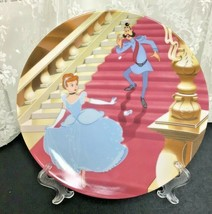 1990 Disney Cinderella At the Stroke of Midnight Knowles Collector Plate... - $23.47