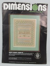 Dimensions Bless this House Happy Hearts Sampler Counted Cross Stitch Ki... - $19.30