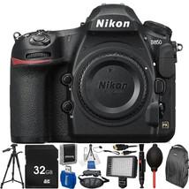 Nikon D850 DSLR Camera (Body Only) w/ 32GB Accessory Bundle - $3,285.90