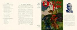 Burroughs,Edgar Rice. The Outlaw Of Torn Facsimile Polvere Copertura 1st... - $21.50
