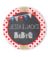 Baby Q It's a Girl Baby Shower Party Thank You Stickers - $10.40