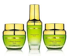 Donna Bella 24K GOLD Collagen Radiance Renewal Set Mask + Cream + Serum ... - $126.09