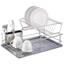 Home Basics 2 Tier Stainless Steel Dish Rack - €34,09 EUR