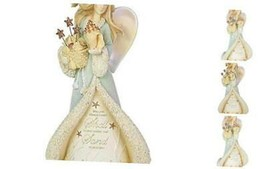 Heart of Christmas Coastal Seaside Angel Figurine, 8.07 Inch, Multicolor  - $57.63