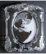 "Large MIKASA PRINCESS 14 1/2 "" High Crystal photo Frame ~Germany - $24.99"