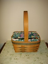Longaberger 1993 Small Stained Easter Basket - $19.99