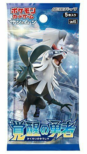 Pokemon card game Sun & Moon expansion pack awakening of brave BOX