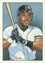 1990 Bowman Art Inserts #6 Kevin Mitchell  - $0.50