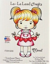 "La-La Land Crafts ""Sweetheart Marci"" Stamp #5033 - Card Making - $10.75"