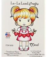 "La-La Land Crafts ""Sweetheart Marci"" Stamp #5033 - Card Making - $10.75"