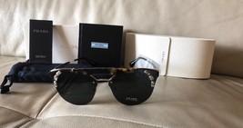Prada SPR 53U New Sunglasses PR 53US 53US Pale Gold / Light Havana I8N-5S0 - $201.03