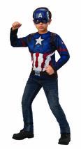Rubies Marvel Avengers Endspiel Captain America Top Maske Halloween Kostüm - $20.00
