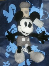 Disney Store Steamboat Willie Plush Mickey Mouse.  Brand New.  - $26.39