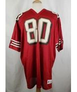 Vintage Jerry Rice #80 San Francisco 49ers Jersey XXL Logo Athletics Mad... - $48.94
