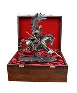 Polish Hussar in a Wooden Box Beautiful Gift * Free Air Shipping Everywh... - $239.00