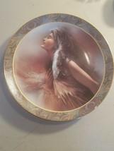 "Lee Bogle Native Beauty ""The Promise"" Collectilble plate 1994 Bradford E... - $6.92"