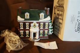 Dept 56 Original Snow Village American Architecture 1994 FEDERAL HOUSE 5... - $39.95