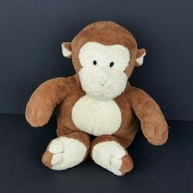 "Ty Pluffies Monkey Baby Dangles Plush Brown Stuffed Animal 10"" Bean Bag 2002  - $34.64"