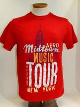 Aero Midtown Music Tour New York T-Shirt Aeropostale Size M - $15.79
