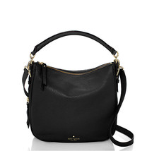 Kate Spade Cobble Hill Ella Should Bag Small Satchel Crossbody Purse Bla... - $148.49