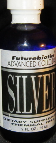 ADVANCED COLLOIDAL SILVER (2K FLUID OUNCES LIQUID) MSRP $16.99