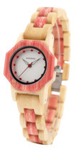 BOBO BIRD Brand Women Bamboo Quartz Watch Special Design for Ladies Wood... - $34.99