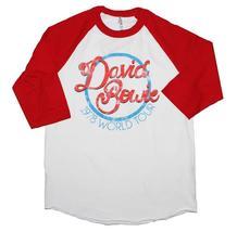 David Bowie 1978 World Tour Raglan Sleeve T-Shirt - $31.98