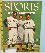 Sports Illustrated April 1955 Full Page Baseball Cards Topps Cards Willi... - $148.50