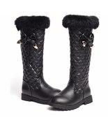 Girls snow boots children's waterproof warm winter Bow fringed princess ... - $89.99+