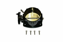 BLACK 102 MM 4 BOLT THROTTLE BODY LS LS1 LS3 LS6 LSX Engine image 1