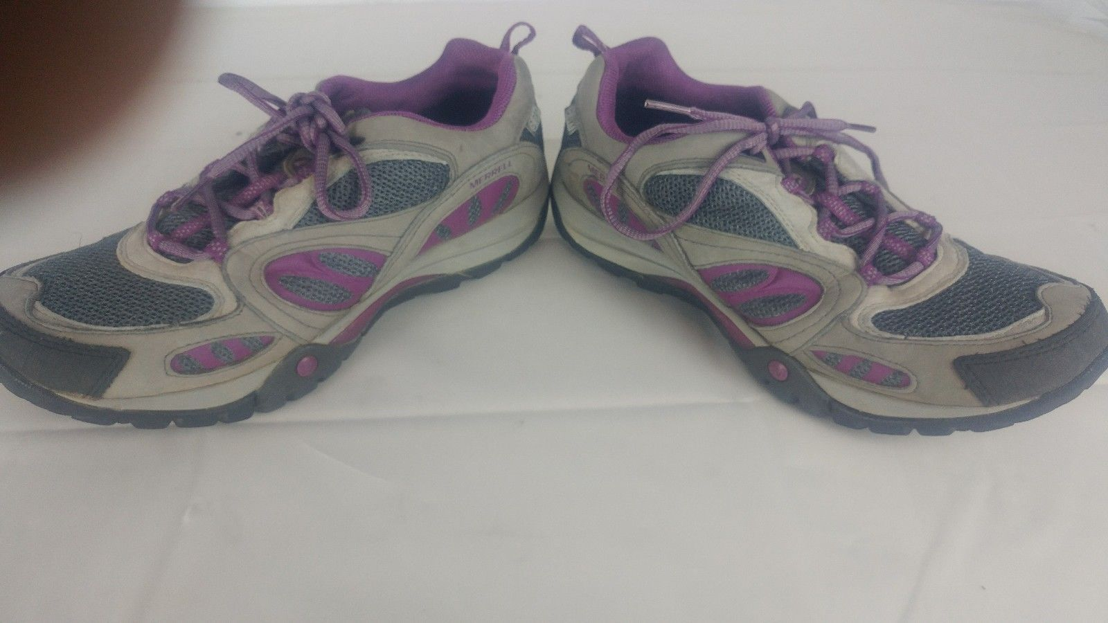 Merrell Women's Air Cushion Select Dry/Grip Grey/Purple Size 8.5