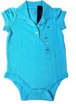 Tommy Hilfiger Baby Girl Bodysuit- Tiffany Blue 3-6M - $22.99