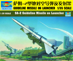 Trumpeter 00206 1/35 Assemble model,SA-2 Guideline Missile on Launcher - $28.99