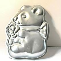 Wilton Teddy Bear with Bow Cake Pan Jello Mold 502-7458 Collectible 1977... - $8.90