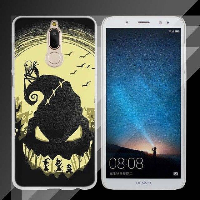 BINYEAE The Nightmare Before Christmas Hard Clear Case Cover for Huawei Mate 10