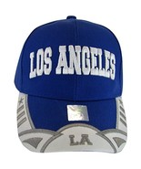 Los Angeles Men's Stars & Stripes Adjustable Baseball Cap (Royal/White) - $11.95