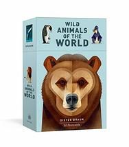 Wild Animals of the World: 50 Postcards [Cards] Braun, Dieter - $19.99