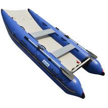 BRIS 11 ft Inflatable Catamaran Inflatable Boat Dinghy Mini Cat Boat Blue  image 5