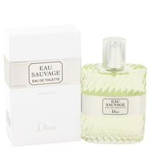 EAU SAUVAGE by Christian Dior Eau De Toilette Spray 1.7 oz - $75.95