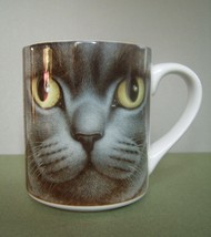 Braldt Bralds British Short Hair Grey Cat Collectible Coffee Mug - $9.99